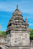 Candi Sewu Buddhist complex in Java, Indonesia Royalty Free Stock Photos