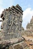 CANDI SEWU BUDDHIST TEMPLE Stock Photography
