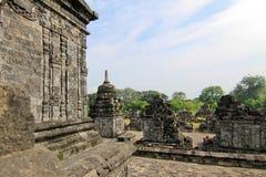 CANDI SEWU BUDDHIST TEMPLE Stock Photo