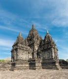 Candi Sewu Buddyjski kompleks w Jawa, Indonezja Zdjęcia Stock