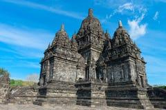 Candi Sewu Buddyjski kompleks w Jawa, Indonezja Zdjęcia Royalty Free