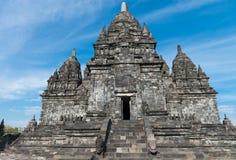 Candi Sewu Buddyjski kompleks w Jawa, Indonezja Obrazy Royalty Free