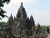 Candi Sewu & x28; Complexe Prambanantempel & x29; stock fotografie