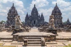 Candi Sewu, part of Prambanan Hindu temple,  Indonesia Stock Photography