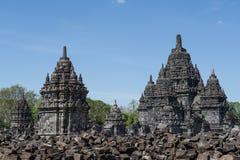 Candi Sewu Temple, Yogyakarta, Indonesia 2 Fotografía de archivo libre de regalías