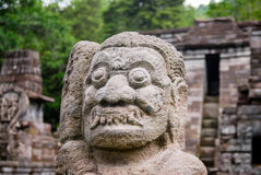 Candi Sukuh or Fertility temple, Central Java, Indonesia Stock Images
