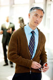 Candid Business Portrait Royalty Free Stock Photography