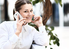Candid image of a businesswoman Stock Image
