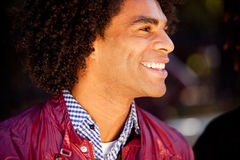 Candid Man Portrait Royalty Free Stock Photography