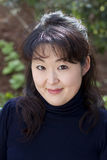Candid portrait of Japanese woman Royalty Free Stock Photo