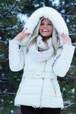 Candid winter portrait Stock Image