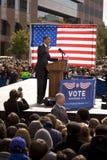 Candidat présidentiel Barack Obama Image stock