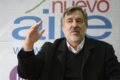 Candidat présidentiel d'Alejandro Guillier au Chili Photographie stock