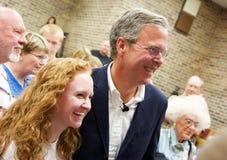 Candidat présidentiel Jeb Bush Images libres de droits