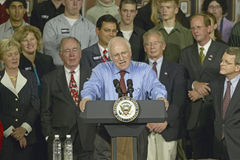 Candidate Dick Cheney Stock Photography