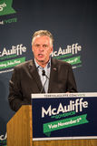 Candidate for Governor for the state of Virginia, Terry McAuliffe Royalty Free Stock Image