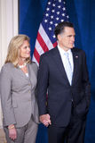 Candidate Mitt and Ann Romney Royalty Free Stock Images