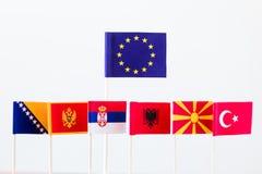 Candidates for eu membership Stock Photography