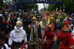 CANDIDATO ALLA PRESIDENZA PRINCIPALE INDONESIANO JOKOWI Fotografie Stock