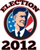 Candidato presidencial americano Mitt Romney libre illustration