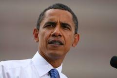 Candidato presidencial, Barack Obama Fotos de archivo libres de regalías