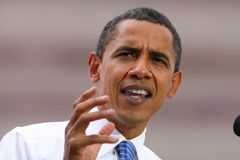 Candidato presidencial, Barack Obama Imagem de Stock Royalty Free