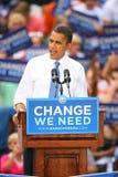 Candidato presidencial, Barack Obama Foto de archivo libre de regalías