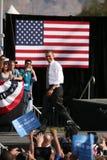 Candidato presidencial Barack Obama Imagens de Stock