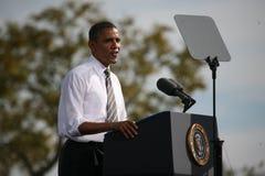 Candidato presidencial Barack Obama Imagenes de archivo
