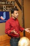 Candidato presidencial Bobby Jindal foto de archivo libre de regalías