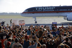 Candidato presidencial Donald Trump Campaigns In Sacramento del GOP, Fotografía de archivo libre de regalías