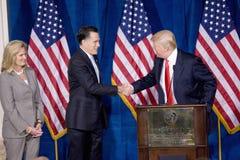 Candidato presidencial republicano Mitt Romney Imagens de Stock