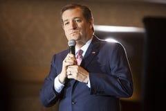 Candidato presidencial republicano Ted Cruz Madison, Ra de Wisconsin imágenes de archivo libres de regalías