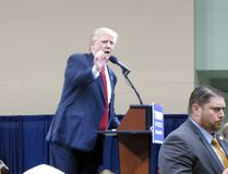 2016 candidato presidencial republicano, trunfo de Donald J Imagem de Stock