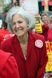 Candidato presidenziale del Partito Verde di Jill Stein fotografia stock