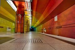 Candidplatz subway station in Munich Royalty Free Stock Photography
