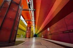 Candidplatz subway station in Munich Stock Images