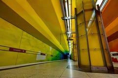 Candidplatz subway station in Munich Stock Photography