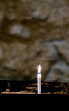 Candle for the Dead, St Machar`s Cathedral, Aberdeen, Scotland Royalty Free Stock Photography