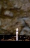 Candie dla nieboszczyka, St Machar ` s katedra, Aberdeen, Szkocja Fotografia Royalty Free