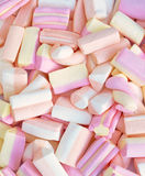 Candie do Marshmallow Fotografia de Stock Royalty Free