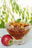 Candied яблоко Стоковое Фото