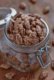 Candied almond and pecan Royalty Free Stock Photos