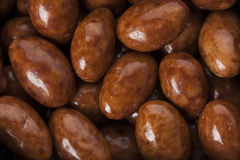 Candied almonds background Royalty Free Stock Images