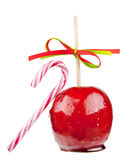 Candied apple Stock Image