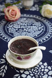 Candied black rice Stock Photography