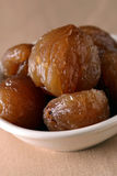 Candied chestnuts Stock Photos