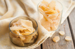 Candied Crystallized Ginger Stock Images