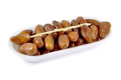 Candied dates palm fruit. Stock Photography