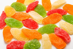 Candied dried fruits Royalty Free Stock Photos